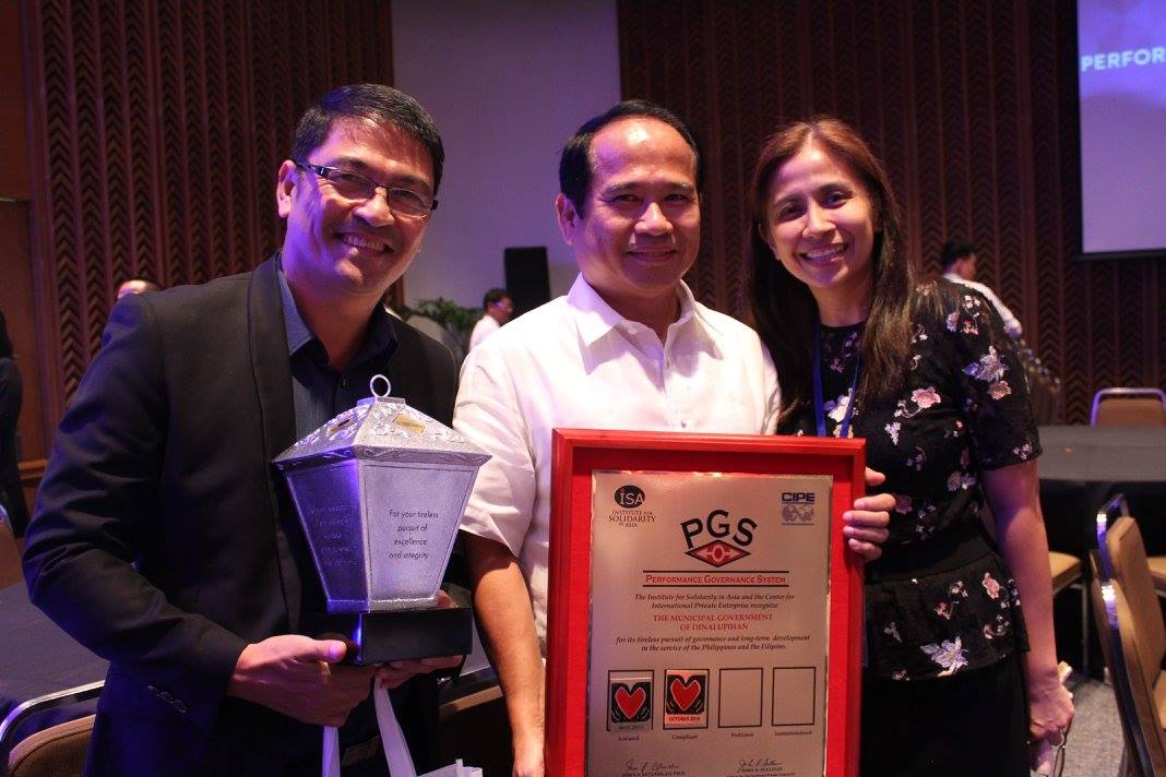 Philippine Governance Forum's Silver Trailblazer Award